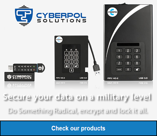 Cyberpol Solutions High Security Storage Devices