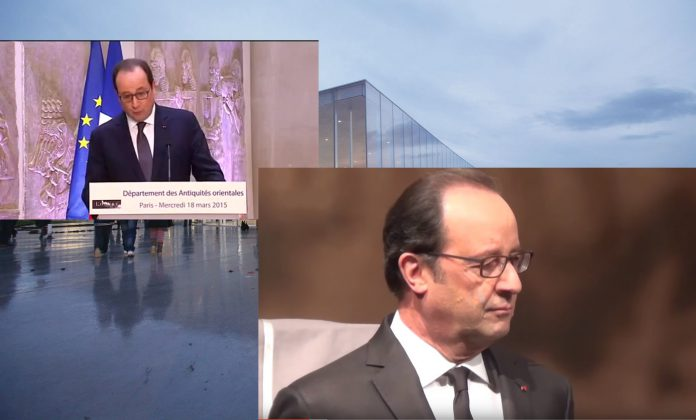World News Tomorrow francois-hollande-louvre-lens