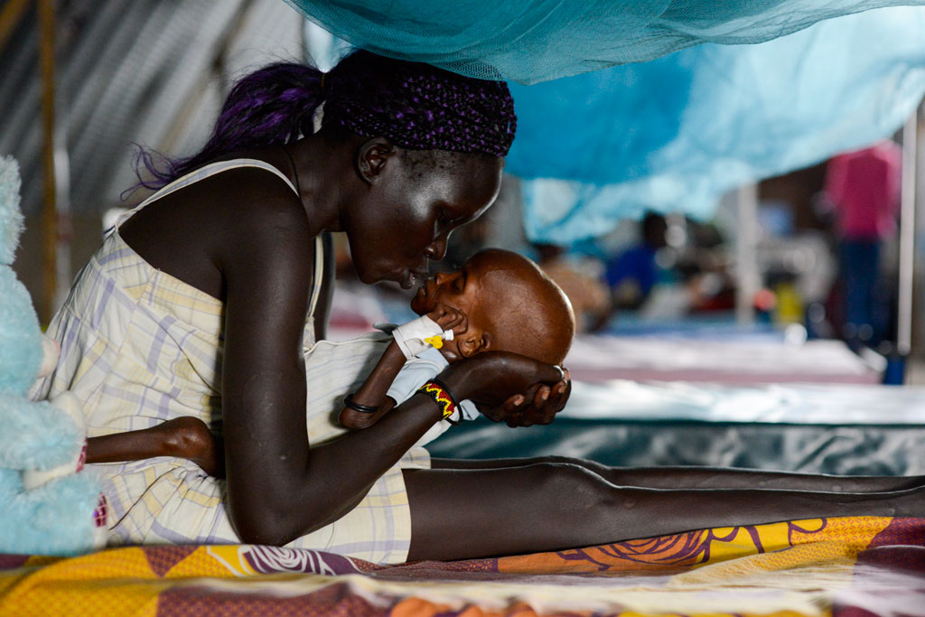 Please allow images for this mail. On this image: UN AID CHIEF CALLS FOR ACCESS, FUNDS TO PREVENT SPREAD OF SOUTH SUDAN'S FAMINE